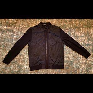 Calvin klein black biker jacket